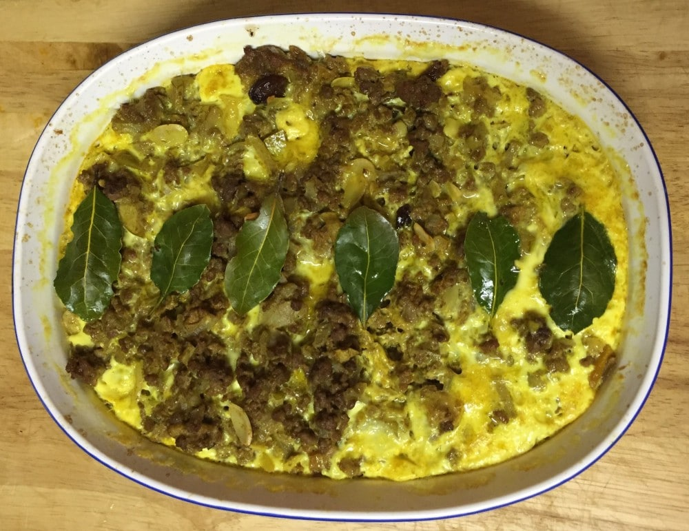 Recipe – Bobotie